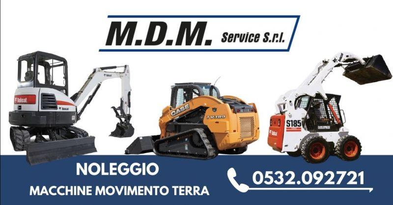 Occasione mezzi movimento terra a noleggio Ferrara - Offerta noleggio mini escavatore pale gommate Ravenna