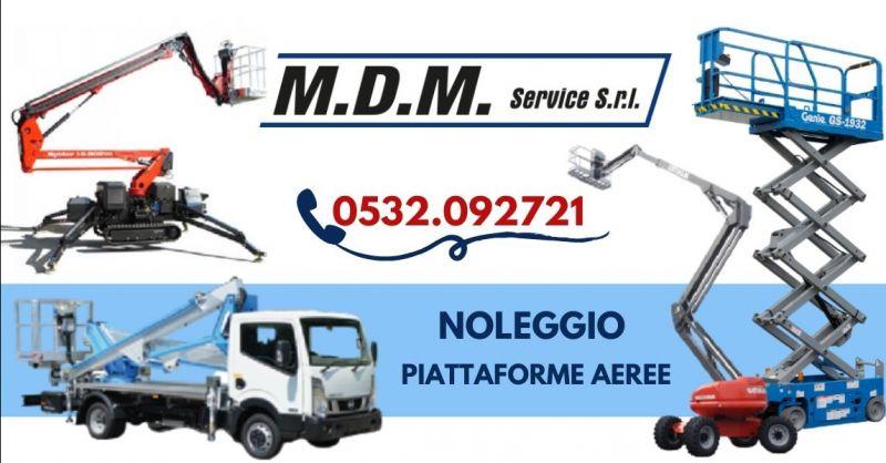 Promozione piattaforme aeree a noleggio Ravenna - Offerta noleggio piattaforme autocarrate Ferrara