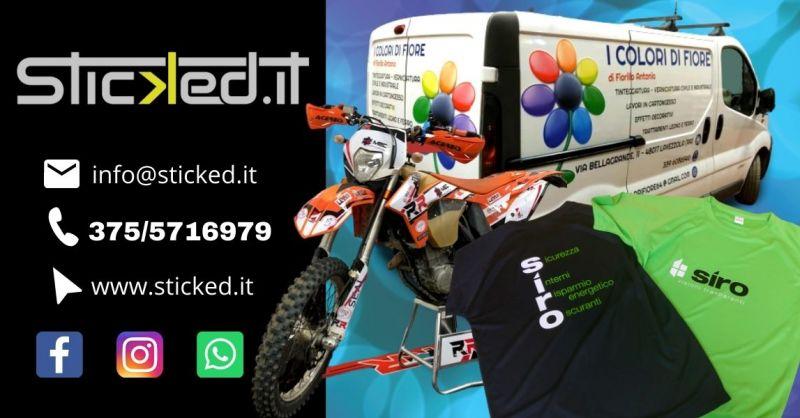 Offerta stampa magliette personalizzate Ravenna - Occasione servizio car wrapping decorazione automezzi Ferrara