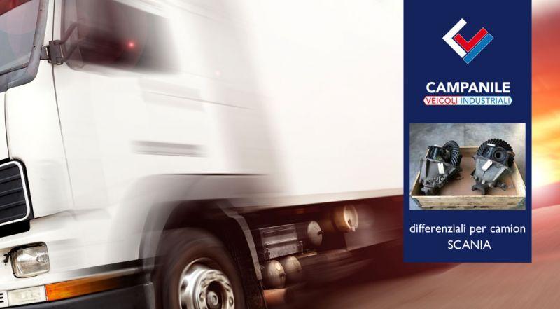 Offerta differenziali per camion SCANIA Barletta Andria – Promozione ricambistica per camion SCANIA Andria