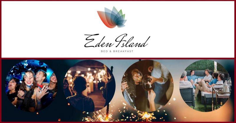 B&B EDEN ISLAND - ANGEBOT IN EXKLUSIVER LOCATION NAHE VERONA ZENTRUM FÜR EVENTS UND FESTE