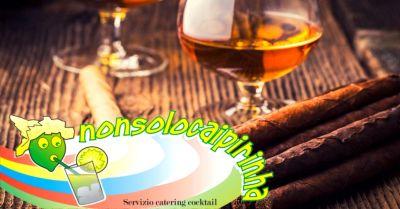 offerta angolo sigari e rum per matrimonio verona occasione servizio cigar corner verona