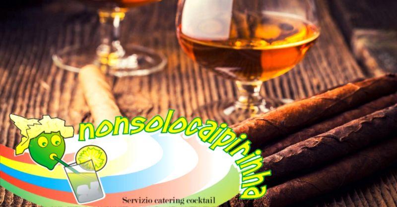 Offerta angolo sigari e rum per matrimonio Verona - occasione servizio cigar corner Verona