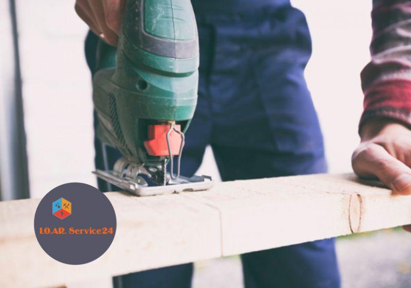 LO.AR. SERVICE24 offerta carpenteria leggera privati – promozione interventi edilizia aziende