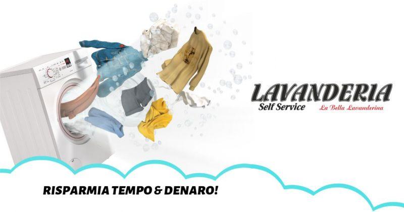 LA BELLA LAVANDERINA Olbia - offerta servizio di lavanderia e stireria self service