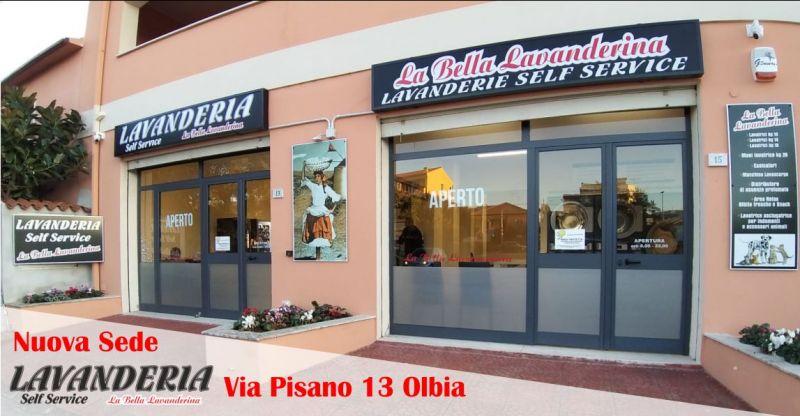 LA BELLA LAVANDERINA Olbia Via Pisano 13 - offerta servizio di lavanderia e stireria self service