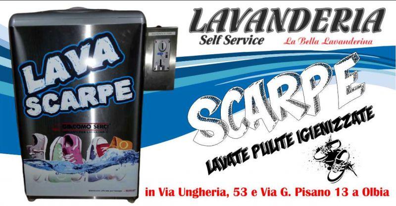 LA BELLA LAVANDERINA Olbia - offerta lavanderia self service macchina lava scarpe