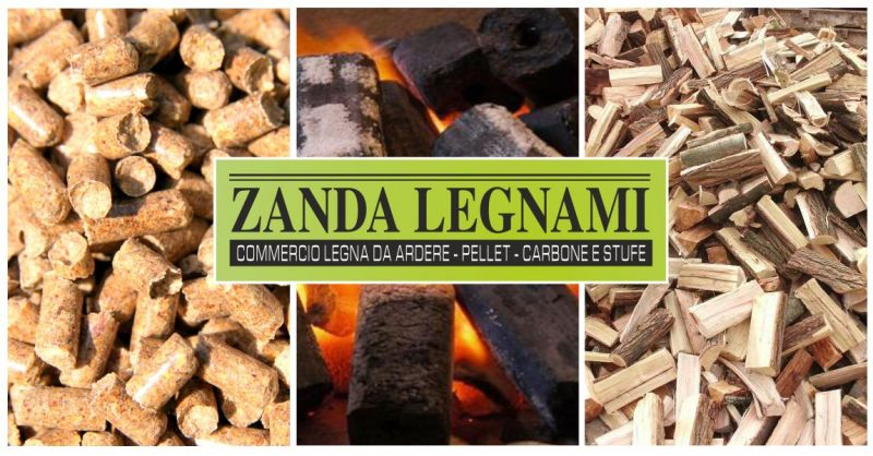 ZANDA LEGNAMI - offerta commercio ingrosso e dettaglio legna da ardere pellet e carbone