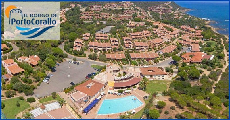 Il Borgo di Porto Corallo - Finden Sie das beste Touristendorf auf Sardinien immer geöffnet