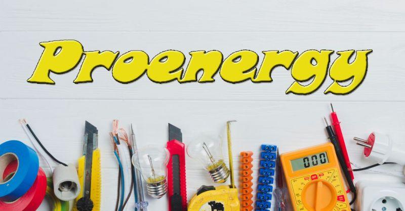 ProEnergy Electro Services - offerta vendita materiali per impianti elettrici civili e industriali
