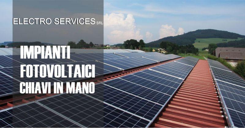 ELECTRO SERVICES Orani - offerta impianti fotovoltaici civili e industriali chiavi in mano Sardegna