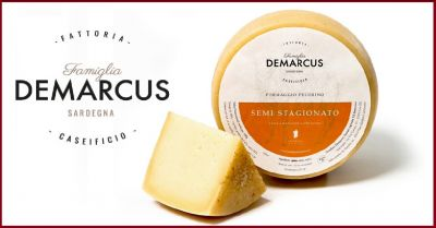 caseificio demarcus offerta vendita online formaggio sardo pecorino al latte semistagionato
