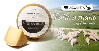 formaggi sardi caseificio demarcus acquista online offerta pecorino affumicato stagionato 12 mesi