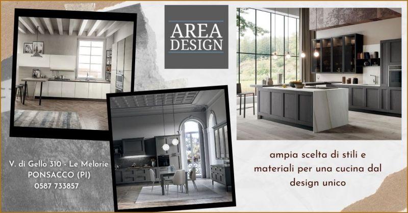 occasione realizzazione e progettazione cucine su misura Pisa - offerta cucine AREA DESIGN