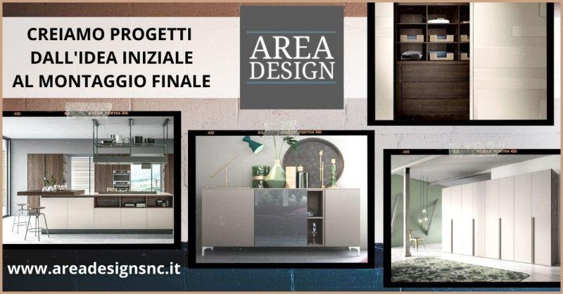 promozione progettazione arredo casa e montaggio mobili Pisa - AREA DESIGN