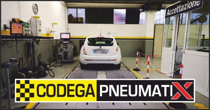 Codega Pneumatix offerta centro revisioni - occasione revisione auto carrara