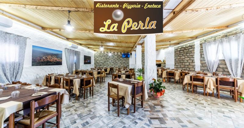 LA PERLA Berchidda - offerta ristorante pizzeria cucina tipica a base di carne o pesce