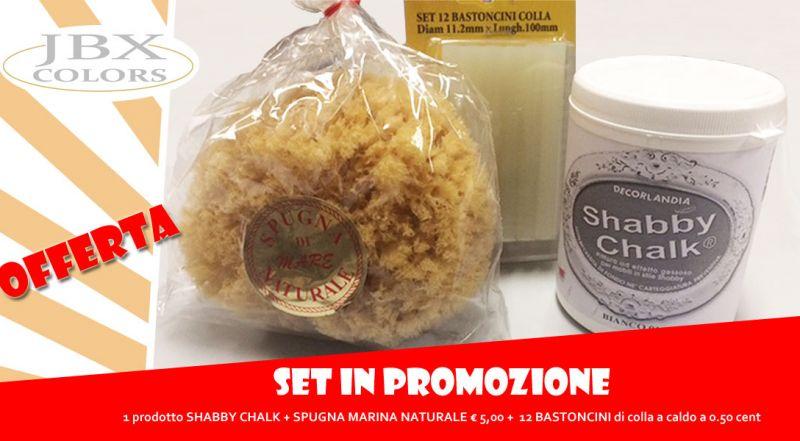 Offerta prodotto shabby chalk San Severe Foggia – Promozione shabby chalk con spugna marina naturale San Severe Foggia