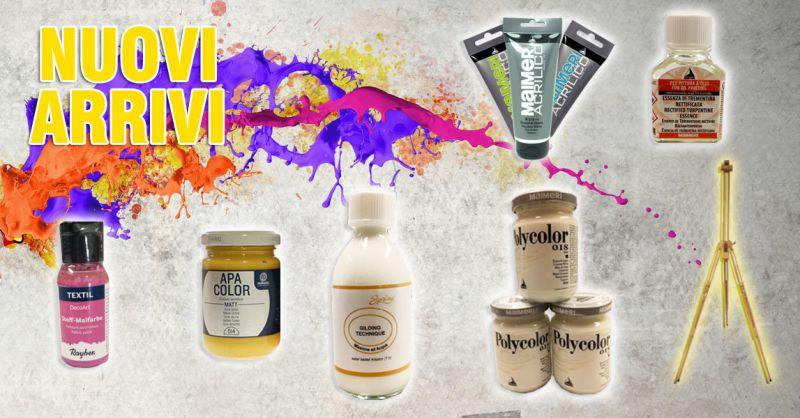 Offerta colori acrilici FERRARIO San Severe Foggia – Promozione materiali e accessori per le belle arti