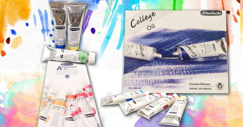 Offerta Colori ad olio AKADEMIE San Severo – Promozione colori ad olio COLLEGE OIL