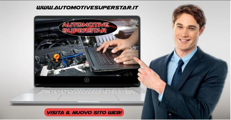 AUTOMOTIVE SUPERSTAR -  sito web servizi offerti e strumenti diagnosi avanzata