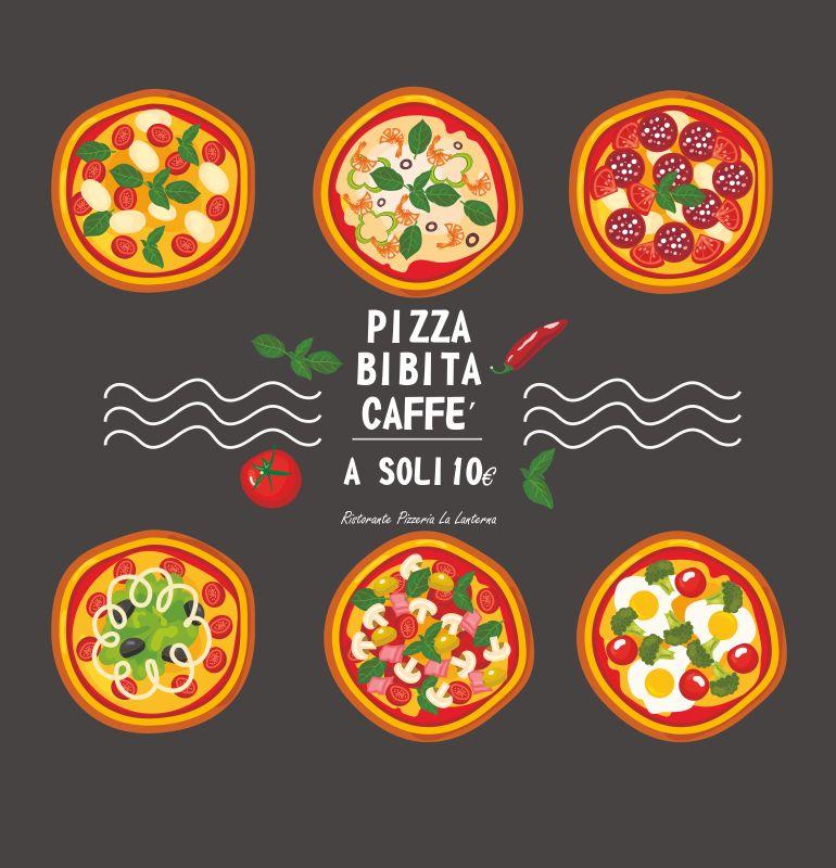 RISTORANTE PIZZERIA LA LANTERNA offerta menu pizza – promozione pizzeria sedrina