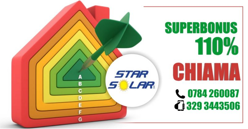 STAR SOLAR - OFFERTA SUPERBONUS 110 DECRETO RILANCIO COS E COME RICHIEDERLO