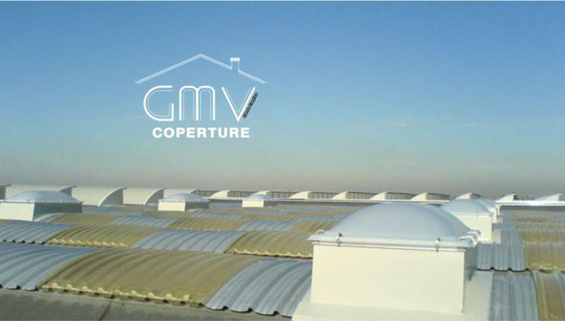 GMV COPERTURE offerta realizzazione coperture industriale chiavi in mano per capannoni con lucernari