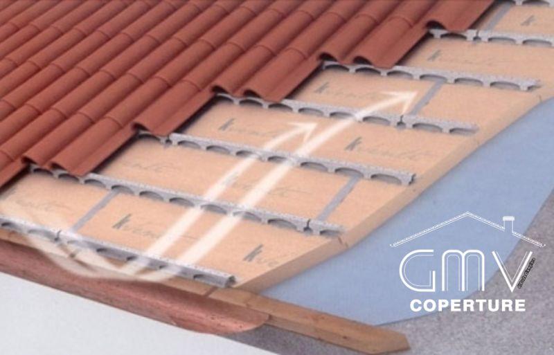 GMV COPERTURE offerta realizzazione coperture edilizia civile residenziale tetti ventilati