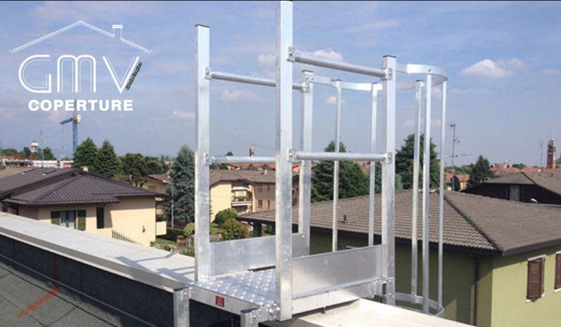 GMV COPERTURE offerta installazione sistemi anti caduta – promo manutenzione dispositivi di ancoraggio