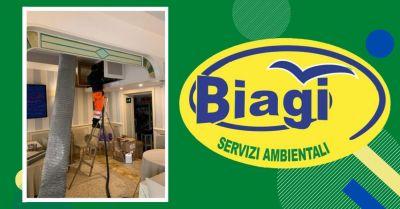 promozione pulizia e sanificazione certificata per condotti dareazione biagi servizi