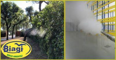 offerta impianti nebulizzazione e sanificazione su tutto il territorio di lucca e versilia
