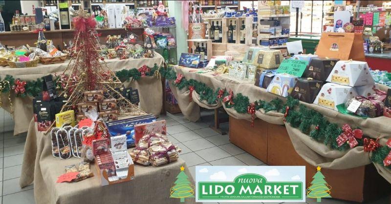 vendita e confezionamento cesti natalizi Lucca – NUOVA LIDO MARKET