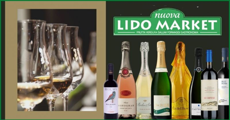 NUOVA LIDO MARKET - offerta negozio migliori etichette vini e spumanti Versilia