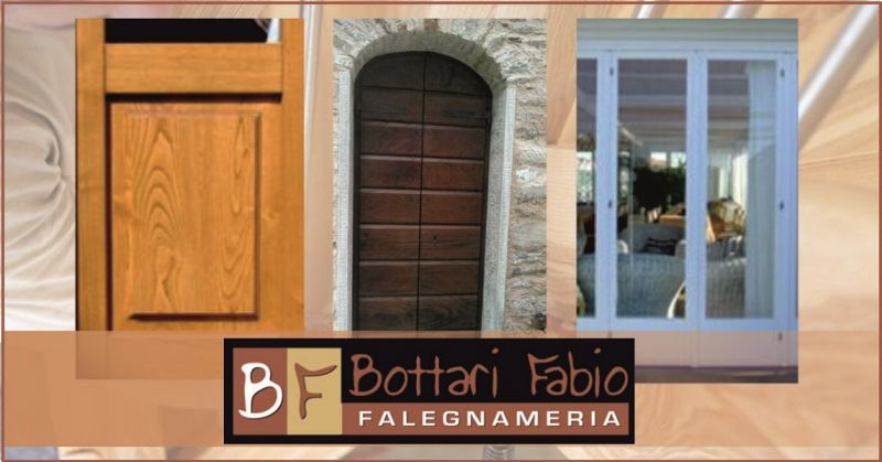 BOTTARI FALEGNAMERIA – occasione lavorazione in legno di porte finestre e persiane