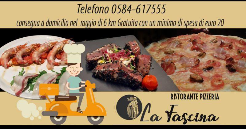 Offerta Consegna Pizza a domicilio Lucca - Occasione Ristorante Pesce con servizio Delivery Lucca