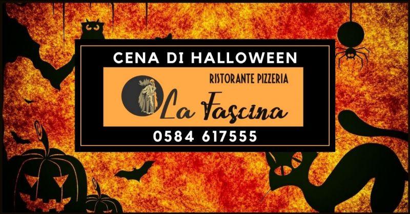 offerta ristorante cena di Halloween Lucca e Versilia - RISTORANTE PIZZERIA LA FASCINA