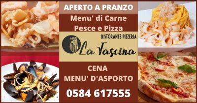 occasione ristorante aperto a pranzo versilia promozione pizzeria da asporto versilia