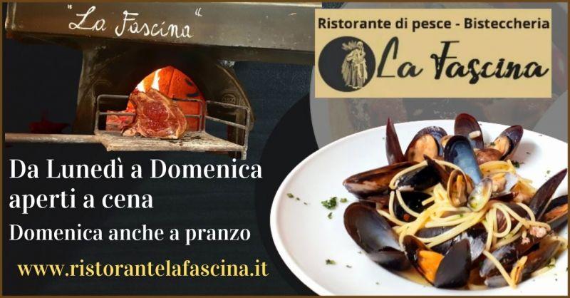 offerta ristorante di pesce Lucca e Versilia - occasione bisteccheria a Lucca e Versilia