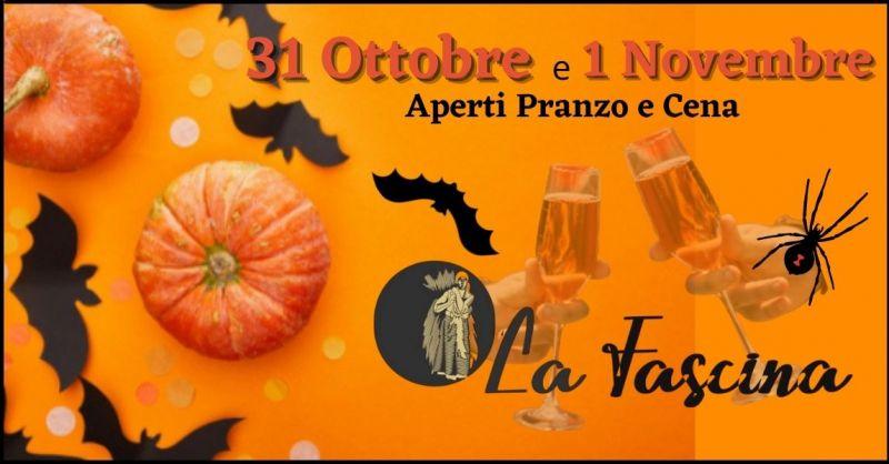 occasione ristorante pranzo e cena di Halloween Versilia - RISTORANTE LA FASCINA