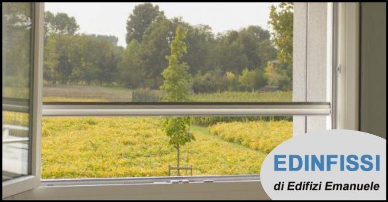 EDINFISSI - offerta vendita zanzariere su misura per finestre e porta finestra Versilia