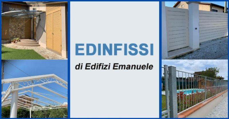 offerta carpenteria metallica e produzione di serramenti in alluminio PVC Lucca - EDINFISSI