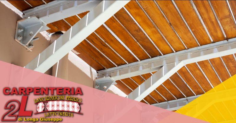 CARPENTERIA  DUE L - Offerta produzione armature e travi metalliche per edilizia Bergamo