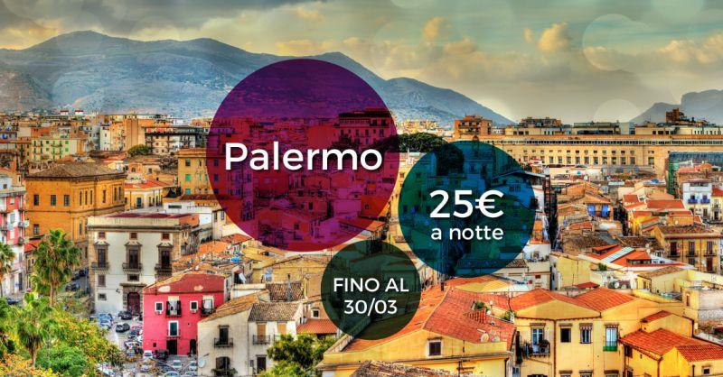 Offerta Bed And Breakfast centrale Palermo - Occasione casa vacanze con cucina palermo