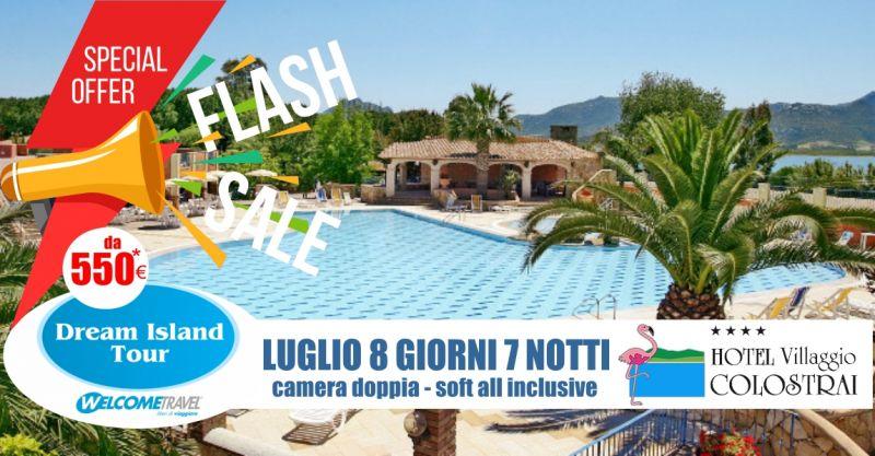 DREAM ISLAND TOURS - offerta vacanza luglio soft all inclusive Hotel Villaggio Colostrai Muravera
