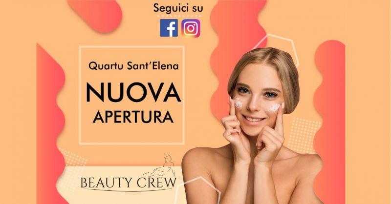 BEAUTY CREW - offerta nuovo centro estetico Quartu Sant Elena