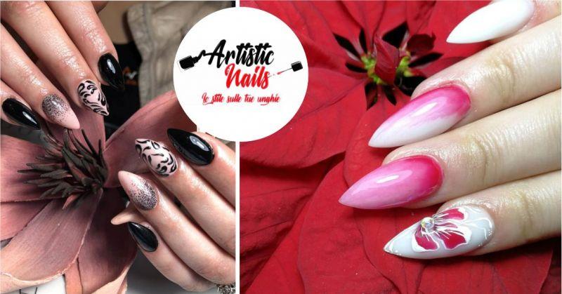 ARTISTIC NAILS  centro estetico specializzato onicotecnica   - offerta ricostruzione unghie nail-art