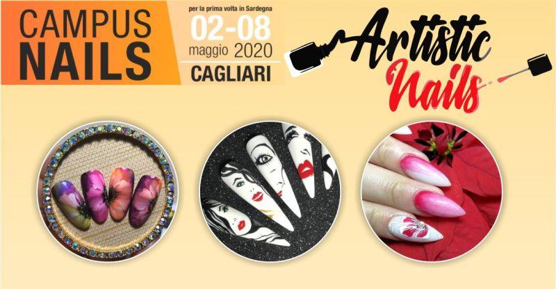 Iscrizione Campus Nails Maggio 2020 Cagliari - offerta master professionale decorazione unghie