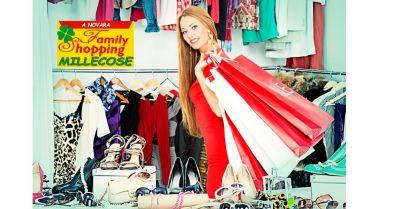 family shopping millecose offerta negozio abbigliamento e articoli per la casa novara