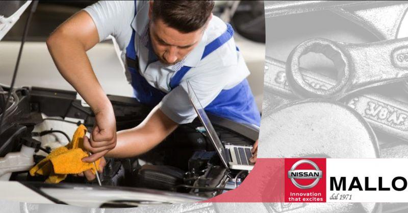 Offerta officina meccanica autorizzata Nissan anzio - occasione centro Nissan roma